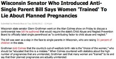 Women lie about pregnancies, obvs.