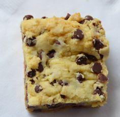 Lazy Cake Cookie Bar