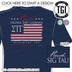 TGI Greek- Sigma Tau Gamma- Greek Apparel #SigmaTauGamma #SigTau #Recruitment
