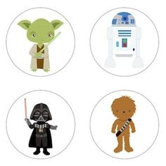 Star Wars Inspired Edible Cupcake Toppers Decoration *** See this great image @ - baking decorations