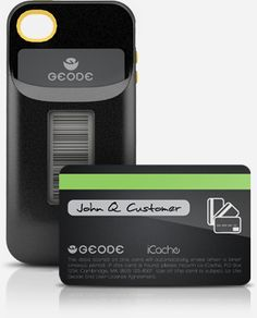 This product gives me chills. It's an iPhone case, but so much more. Geode is an iPhone Appcessory that stores credit cards, loyalty cards, gift cards, and membership cards and protects the information with biometric security. I can't even begin to describe this adequately, so click on the link to view the video... cool but where would I put my license