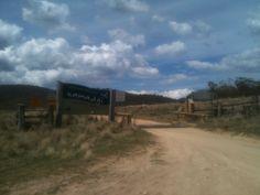 The ACT Border in Namadji National Park