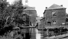 Whitchurch, Silk Mill c1955   before my time