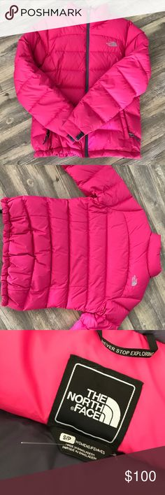 Northface coat size small Perfect condition! Only worn a few times sledding :) very thick and warm! The North Face Jackets & Coats Puffers