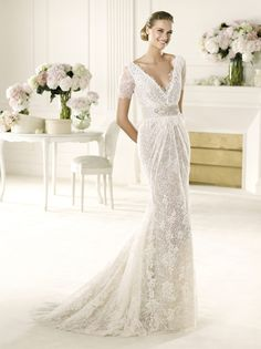 ethereal wedding gown collections | wedding dress bridal gown manuel mota pronovias 2013 VERGEL B NYC ...