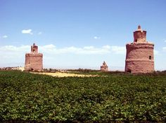 Pigeon Towers of Iran. During the Safavid era, thousands of these towers were build. The pigeons were kept for their droppings, valuable as fertilizer and for tanning leather.
