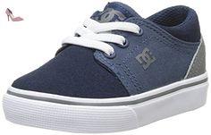 DC Shoes Trase T, Chaussures Bébé marche bébé garçon, Bleu (Navy/Grey), 27 EU - Chaussures dc shoes (*Partner-Link)