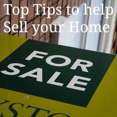 5 Top Tips to make the most of your home when you sell