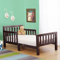 Orbelle Contemporary 415 Toddler Bed Red Rooms Nursery Furniture