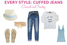 Every Style: Cuffed Jeans: Classic & Tomboy   Taim Boutique