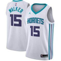 buy popular e37d4 b9d8c Charlotte Hornets Jersey - Kemba Walker Jordan Brand Jersey