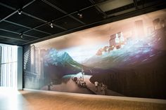 National Music Centre Wall Murals Installed by Drop Wallcoverings, Calgary Wallpaper Installer