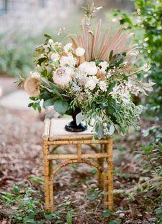 Magnolia Plantation Charleston Wedding Flower Urn Decoration