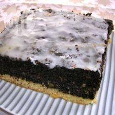 Polnischer Mohnkuchen