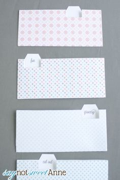 Envelope Budget Template By Sherryl Buiza  Jewelry