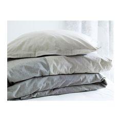 MALOU Bettwäscheset, 2-teilig IKEA Vor dem Weben durchgefärbtes Garn für weiche, schmiegsame Bettwäsche.