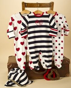 3 Pack Baby Girl Spot Sleepsuits - cute baby grows