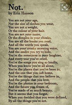 Love it. So true. Who R U ?