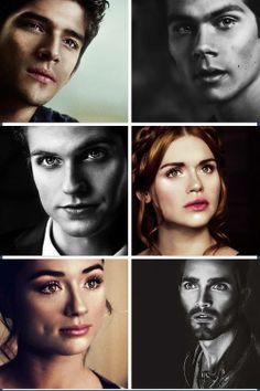#TeenWolf - Scott, Stiles, Isaac, Lydia, Allison and Derek