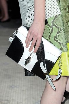 Proenza Schouler's new spring silhouette, in bold black and white