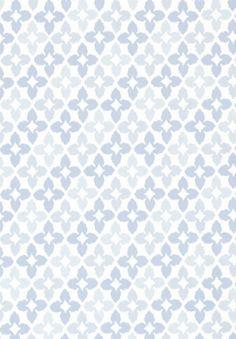 Novia blue #Thibaut #Geometric