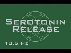 Serotonin Release - Produce Natural Serotonin - 10.5 hz Alpha Binaural Beats - YouTube