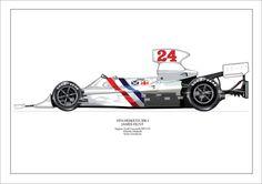 F1 GRAND PRIX JAMES HUNT HESKETH 308-1 Ltd. Ed. Signed PRO AIRBRUSH PRINT
