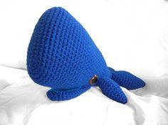 Wally The Whale Amigurumi Pattern