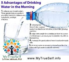 Advantages Of Drinking Water, Water In The Morning, Healthy Water, Fiji Water Bottle, Non Profit, Rid, Drinks, Beverages, Drink