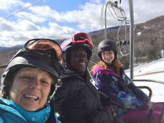 Nothing like a day on the slopes in Spring! Rec. Director Mrs. Fahner and friends had an awesome time!