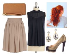 """""""#119"""" by vanessa-m-108 ❤ liked on Polyvore featuring Reiss, Chanel, FOSSIL and H&M"""