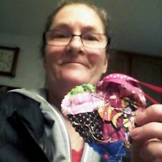 I found a quilted heart on the road up to the tower on the cattle gate @pena adobe park .my brother and i hike to the tower most Tuesday,Thursday s with our 6dogs ,my brother actually spotted it first,thankyou this made my day .i love it. #ifaqh #ifoundaquiltedheart