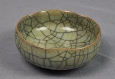 Chinese Guan-Ware Style Shallow Bowl