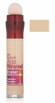 Maybelline New York Instant Age Rewind Eraser Dark Circles Treatment Concealer, fl. Best Under Eye Concealer, How To Apply Concealer, Best Concealer, Maybelline Instant Age Rewind, Dark Circles Treatment, Concealer For Dark Circles, Maybelline Makeup, Face Primer, Loreal Paris