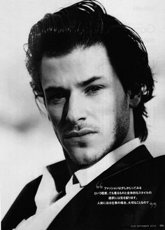 gaspard-come on...tell me. Does he not look like the perfect Camden Atrauser?