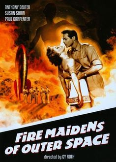 Fire Maidens of Outer Space [DVD] [1956]