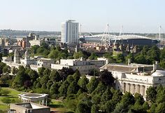 The city of Cardiff, Wales