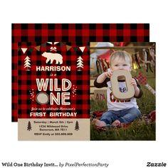 1st Birthday Invitation Wording, Wild One Birthday Invitations, Wild One Birthday Party, Baby Boy 1st Birthday, Boy Birthday Parties, Birthday Ideas, Birthday Pictures, Dinosaur Birthday, Invites