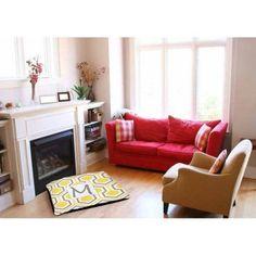 Thumbprintz Honeycomb Monogram Indoor/Outdoor Pet Bed, Yellow