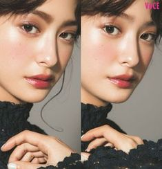 nice make up Everyday Makeup Tutorials, Korean Makeup Tutorials, Korean Eye Makeup, Asian Makeup, Make Up Looks, Makeup Inspo, Makeup Inspiration, Perfect Nose, Normal Makeup