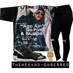 Age aint nothn but a idk Swag Outfits, Dope Outfits, Cute Summer Outfits, Urban Outfits, Casual Outfits, Aaliyah Outfits, Dope Fashion, Urban Fashion, Teen Fashion
