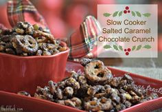 """I would be thrilled if you would head over to Love Grown Food's Facebook and/or Pinterest page and vote for my holiday recipe creation (by """"liking"""" or pinning) – {Slow Cooker} Salted Caramel Dark Chocolate Crunch! This scrumptious salty-sweet snack … Continue reading →"""