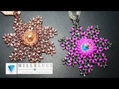 """Medaglione """"Polaris"""" Con le O Beads e le Superduo - Millelucistones.com"""