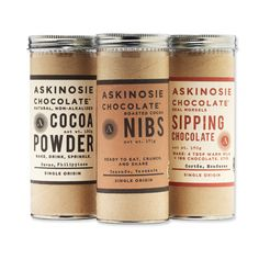 $25 and Under - Cocoa Powder, Chocolate Nibs, and Sipping Chocolate from #InStyle