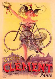 ancienne affiche de vélo - Recherche Google