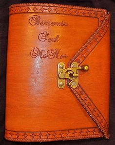 Custom Leather Bible Cover by BomberoLeatherworks on Etsy, $95.00  PERFECT VALENTINE GIFT FOR EVERYONE!!!