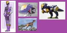 For those of you who are unfamiliar with Zyuden Sentai Kyoryuger, these will be the Zords in the upcoming Power Rangers Dino Charge next year. the first zord created, and first . Dino Rangers, Pawer Rangers, Power Rangers Cosplay, Go Go Power Rangers, Hero Time, Spinosaurus, Kamen Rider, Thunder, Concept Art