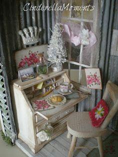 •• Garden Hideaway Dollhouse