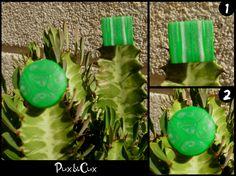 Anillos verdes, #fimo, #arcillapolimérica, #polymerclay, #handmade, #hechoamano, #artesanal, #artesanía