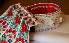 Headpiece from Kalotaszeg Folk Clothing, Historical Clothing, Heart Of Europe, Folk Dance, Ethiopia, Hungary, Hair Pins, Most Beautiful, Culture